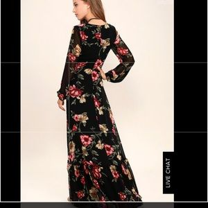 409106bfb5 Women's Floral Print Maxi Dress Worn Once on Poshmark